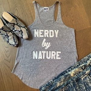 Nordstroms SUB URBAN RIOT Nerdy By Nature Tank